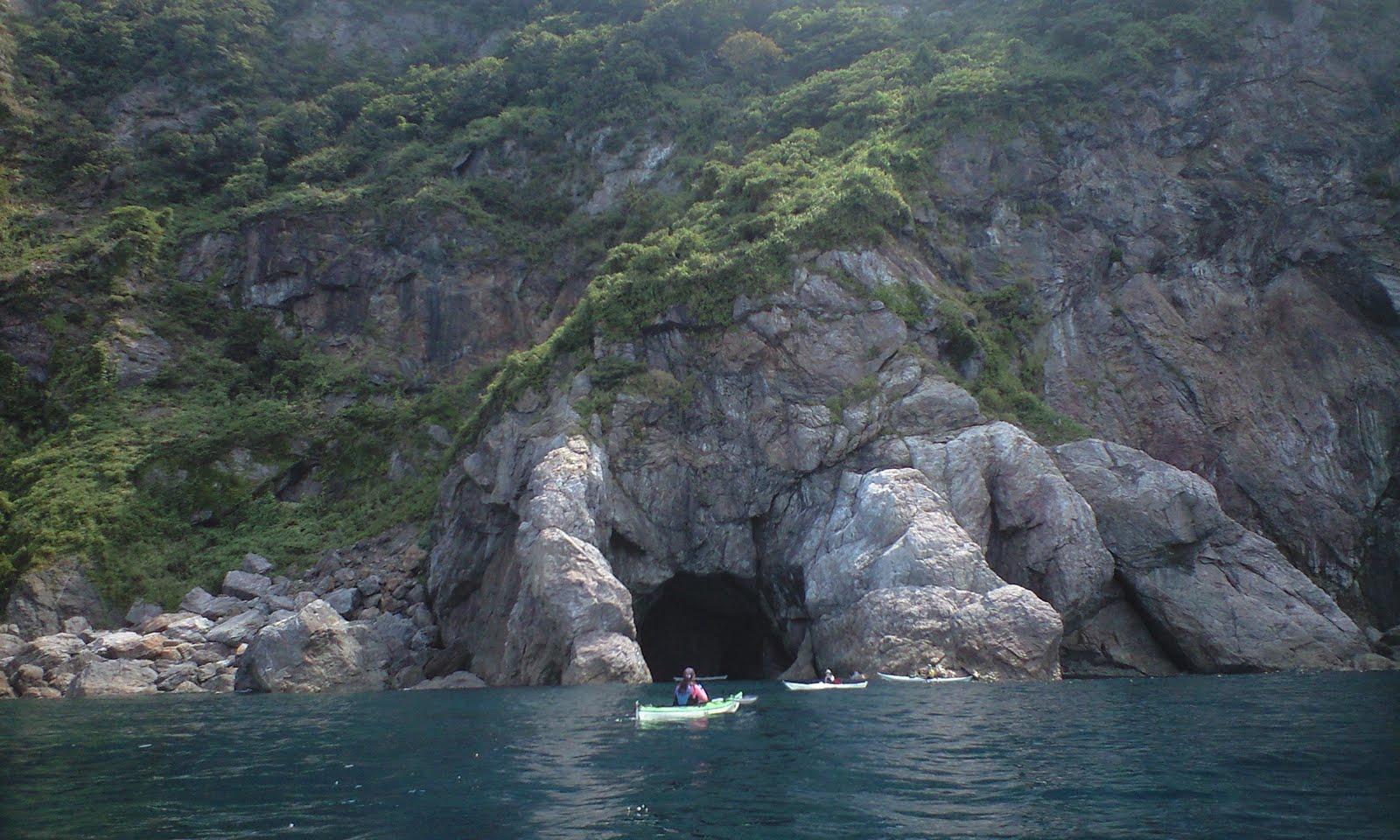 日本海 常神半島 シーカヤック 2010