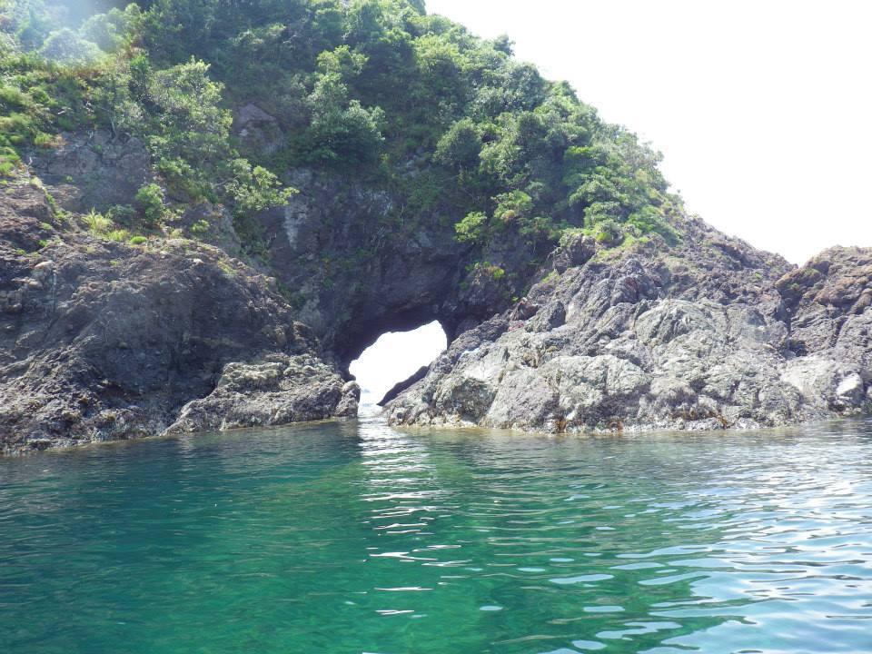 シーカヤックで和歌山・湯浅の海を漕ぎ漕ぎ
